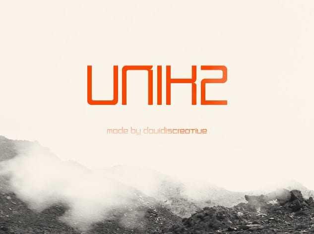 Tipos de letra Unik2