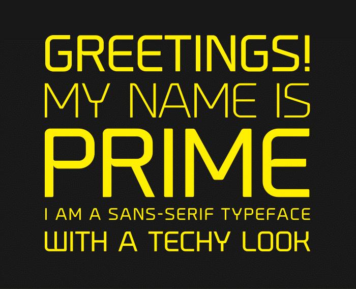 Tipografia Prime